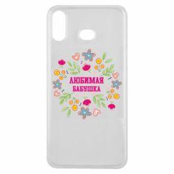 Чохол для Samsung A6s Улюблена бабуся і красиві квіточки