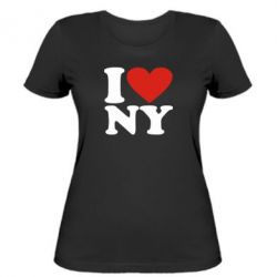Жіноча футболка Люблю Нью Йорк - FatLine