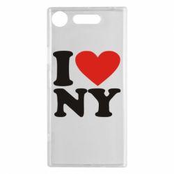 Чехол для Sony Xperia XZ1 Люблю Нью Йорк - FatLine