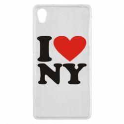 Чехол для Sony Xperia Z2 Люблю Нью Йорк - FatLine