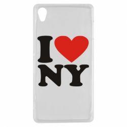 Чехол для Sony Xperia Z3 Люблю Нью Йорк - FatLine