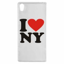 Чехол для Sony Xperia Z5 Люблю Нью Йорк - FatLine