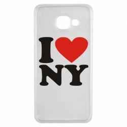 Чохол для Samsung A3 2016 Люблю Нью Йорк