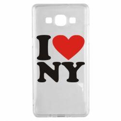 Чохол для Samsung A5 2015 Люблю Нью Йорк