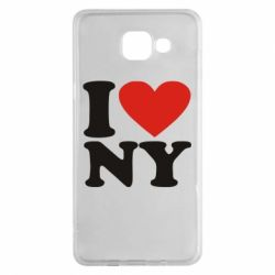 Чохол для Samsung A5 2016 Люблю Нью Йорк