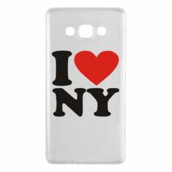 Чохол для Samsung A7 2015 Люблю Нью Йорк