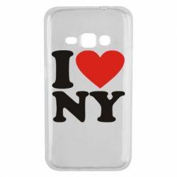Чохол для Samsung J1 2016 Люблю Нью Йорк