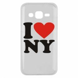 Чохол для Samsung J2 2015 Люблю Нью Йорк