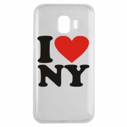 Чохол для Samsung J2 2018 Люблю Нью Йорк