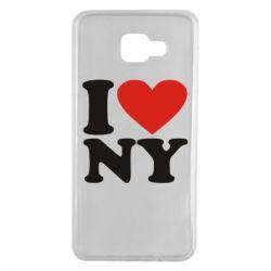 Чохол для Samsung A7 2016 Люблю Нью Йорк
