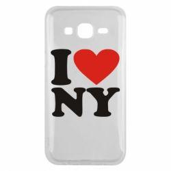 Чохол для Samsung J5 2015 Люблю Нью Йорк