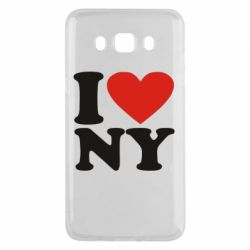 Чохол для Samsung J5 2016 Люблю Нью Йорк