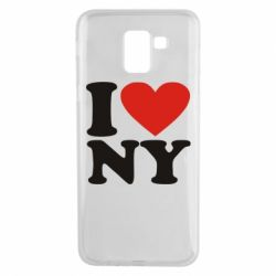 Чохол для Samsung J6 Люблю Нью Йорк