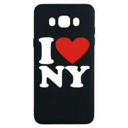 Чохол для Samsung J7 2016 Люблю Нью Йорк