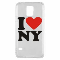 Чохол для Samsung S5 Люблю Нью Йорк