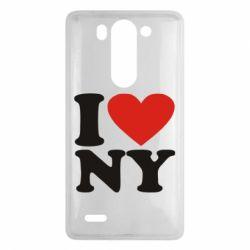 Чехол для LG G3 mini/G3s Люблю Нью Йорк - FatLine