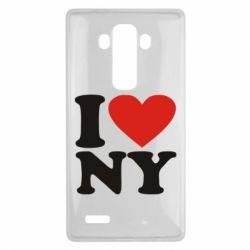 Чехол для LG G4 Люблю Нью Йорк - FatLine