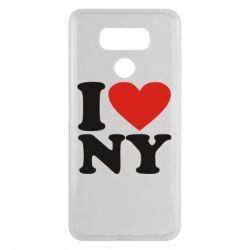 Чехол для LG G6 Люблю Нью Йорк - FatLine