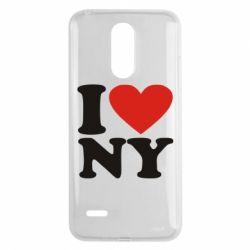 Чехол для LG K8 2017 Люблю Нью Йорк - FatLine