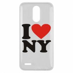 Чехол для LG K10 2017 Люблю Нью Йорк - FatLine