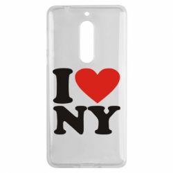 Чехол для Nokia 5 Люблю Нью Йорк - FatLine