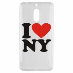Чехол для Nokia 6 Люблю Нью Йорк - FatLine
