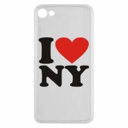 Чехол для Meizu U10 Люблю Нью Йорк - FatLine