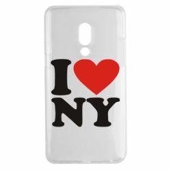 Чехол для Meizu 15 Plus Люблю Нью Йорк - FatLine