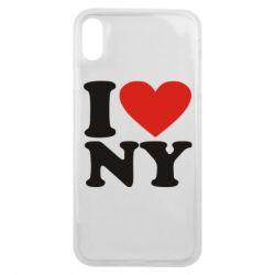 Чохол для iPhone Xs Max Люблю Нью Йорк