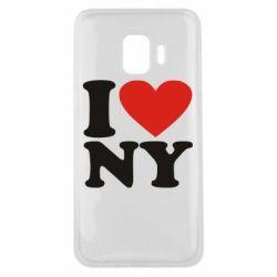 Чохол для Samsung J2 Core Люблю Нью Йорк