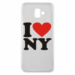 Чохол для Samsung J6 Plus 2018 Люблю Нью Йорк
