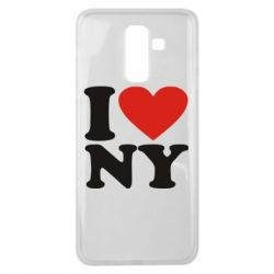 Чохол для Samsung J8 2018 Люблю Нью Йорк