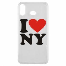 Чохол для Samsung A6s Люблю Нью Йорк