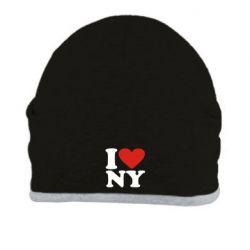 Шапка Люблю Нью Йорк - FatLine