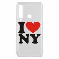 Чохол для Samsung A9 2018 Люблю Нью Йорк