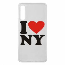 Чохол для Samsung A7 2018 Люблю Нью Йорк