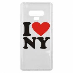 Чохол для Samsung Note 9 Люблю Нью Йорк