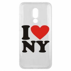 Чехол для Meizu 16x Люблю Нью Йорк - FatLine