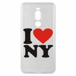 Чехол для Meizu Note 8 Люблю Нью Йорк - FatLine