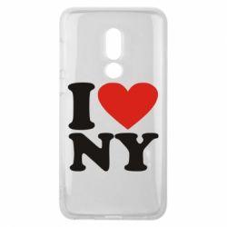 Чехол для Meizu V8 Люблю Нью Йорк - FatLine