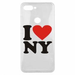Чехол для Xiaomi Mi8 Lite Люблю Нью Йорк