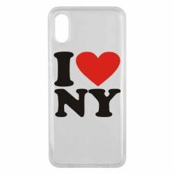 Чехол для Xiaomi Mi8 Pro Люблю Нью Йорк