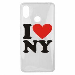 Чехол для Xiaomi Mi Max 3 Люблю Нью Йорк