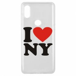 Чехол для Xiaomi Mi Mix 3 Люблю Нью Йорк