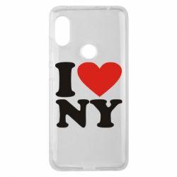 Чохол для Xiaomi Redmi Note Pro 6 Люблю Нью Йорк