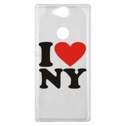 Чехол для Sony Xperia XA2 Plus Люблю Нью Йорк - FatLine