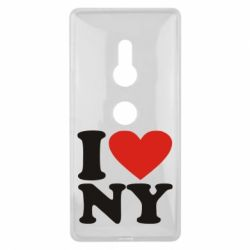 Чехол для Sony Xperia XZ2 Люблю Нью Йорк - FatLine