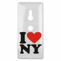 Чехол для Sony Xperia XZ3 Люблю Нью Йорк - FatLine