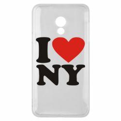 Чехол для Meizu 15 Lite Люблю Нью Йорк - FatLine