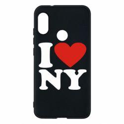 Чехол для Mi A2 Lite Люблю Нью Йорк - FatLine